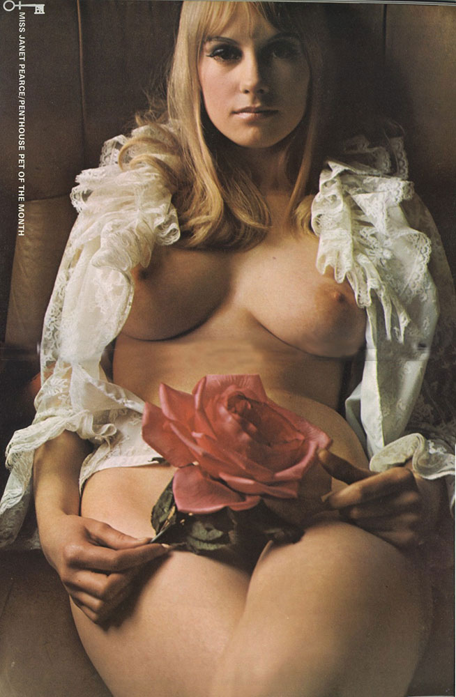 Janet Pearce nude. Pet Of The Month - December 1969