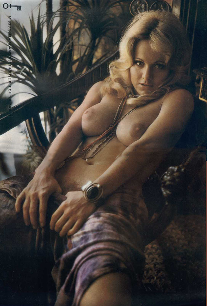 Angela Adams nude. Pet Of The Month - November 1972
