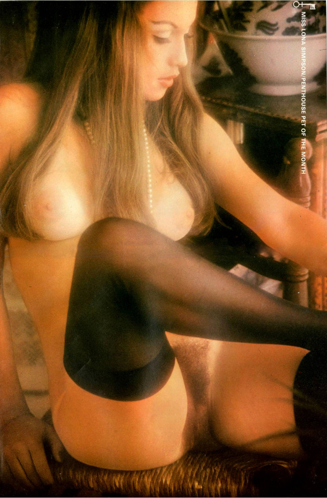 Lona Simpson nude. Pet Of The Month - February 1975