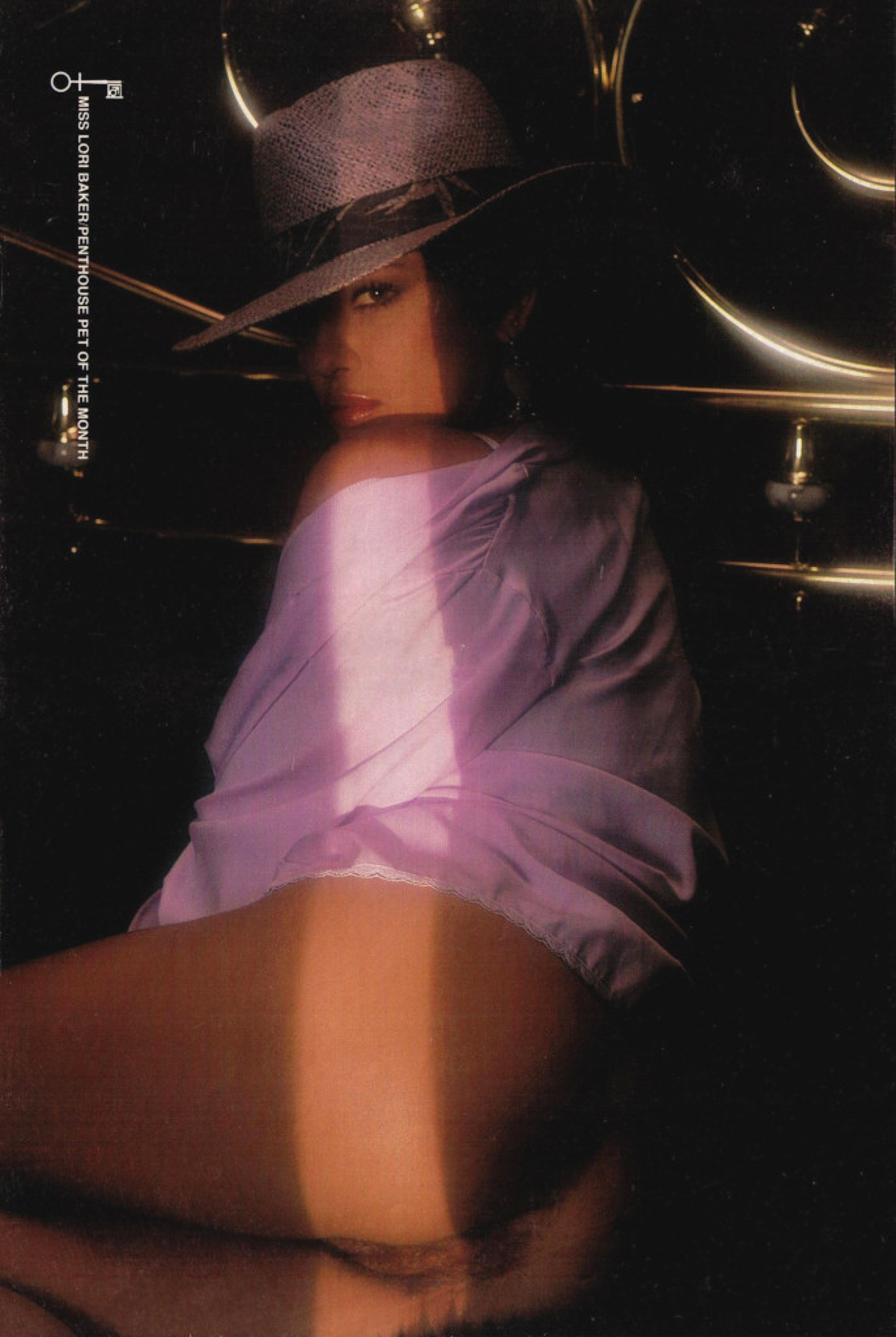 Lori Baker nude. Pet Of The Month - December 1985