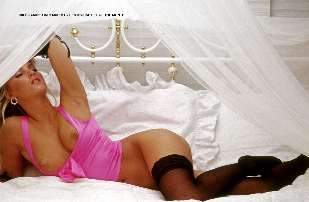 Janine Lindemulder nude. Pet Of The Month - December 1987