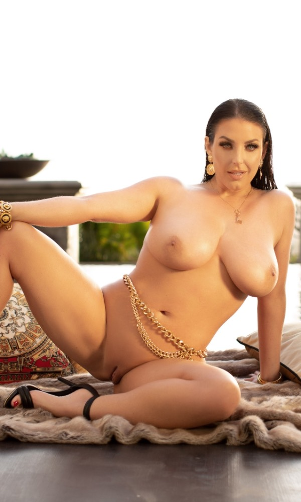 Angela White nude. Pet Of The Month - October 2021